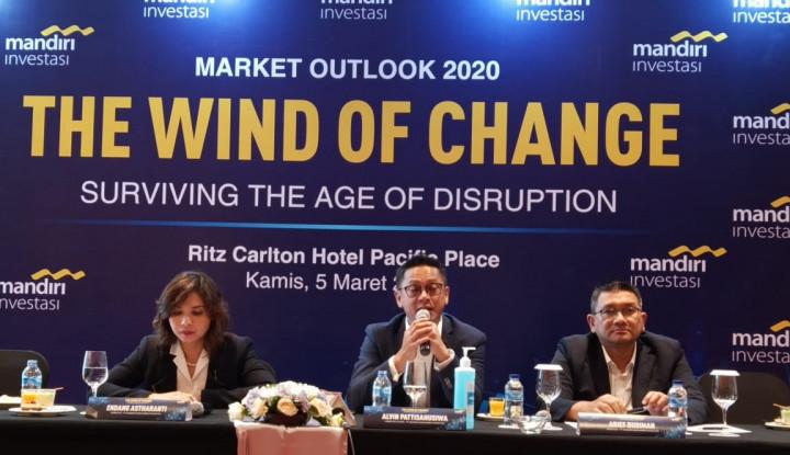 Terkena Hantaman Corona, Mandiri Investasi Belum Revisi Target IHSG - Warta Ekonomi