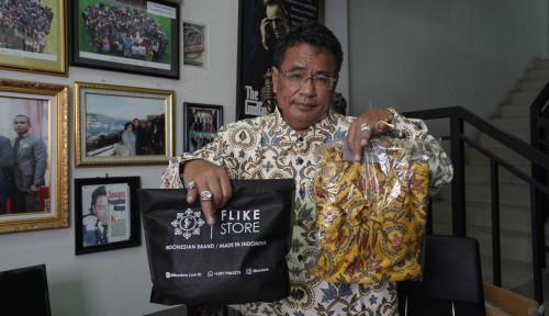 Foto Buka Usaha Batik, Pemuda Ini Beromzet Miliaran Rupiah Per Bulan