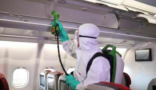 Antisipasi Wabah Corona, Lion Air Group Sterilisasi Pesawat dan Hangar