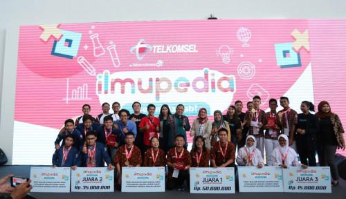 Foto Kuis Telkomsel Tingkat Nasional, SMAN 1 Sambas Raih Juara Ilmupedia Berani Jawab