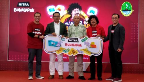Foto Demi Pertumbuhan Ekonomi, Bukalapak Integrasikan Produk Virtual di Warung