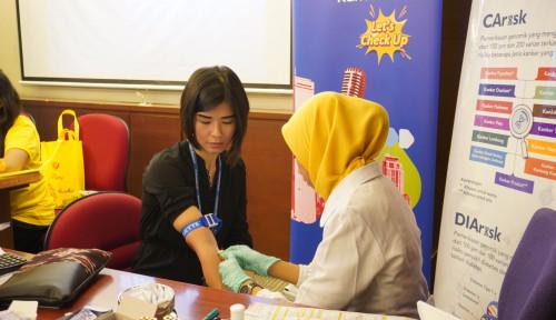 Foto Peduli Kesehatan Milenial, Prodia Gelar Lets Check Up di 9 Kota Besar Indonesia