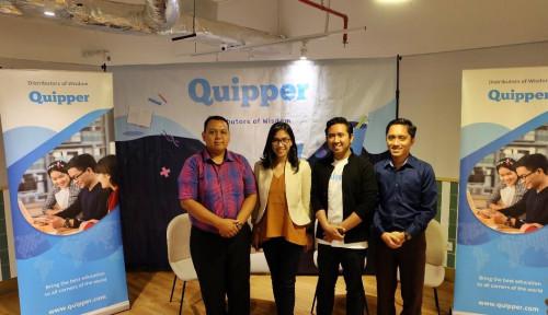Foto Try Out Online Quipper Berhasil Diikuti 160.000 Peserta