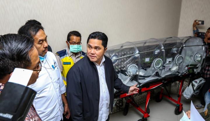 Menteri Erick Thohir Pastikan Bandara Soekarno-Hatta Tingkatkan Kesiagaan Virus Corona - Warta Ekonomi
