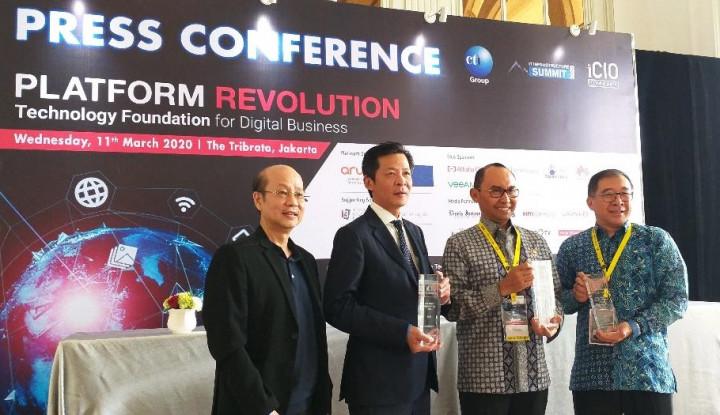 iCIO Awards 2020 Beri Apresiasi Tokoh Transformasi Digital - Warta Ekonomi