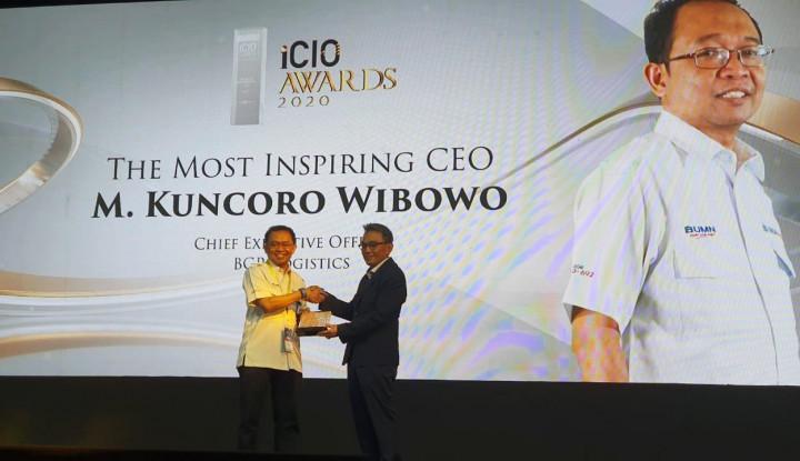 Direktur Utama BGR Logistics Raih The Most Inspiring CEO - Warta Ekonomi