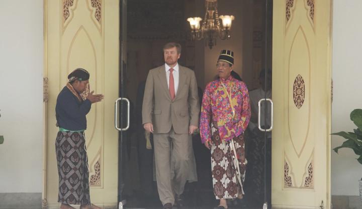 Pertemuan Sri Sultan HB X dan Raja Belanda Dipenuhi Nostalgia