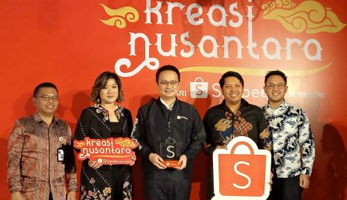 Foto Shopee Target Jual 1 Juta Produk Ekspor dari Indonesia