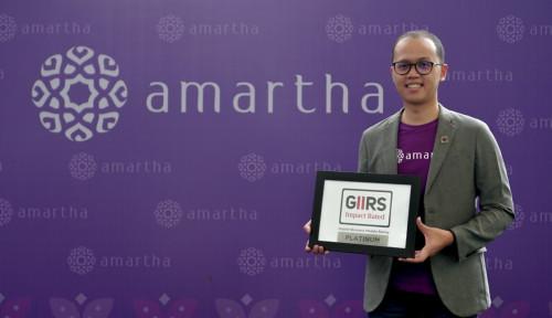 Foto Ketje! Amartha Sabet Peringkat Tertinggi dari GIIRS