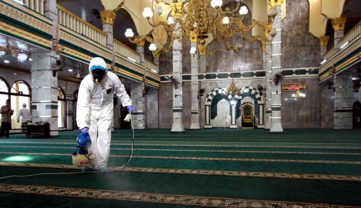 UEA Setop Salat Berjamaah di Masjid untuk Sementara Waktu - Warta Ekonomi