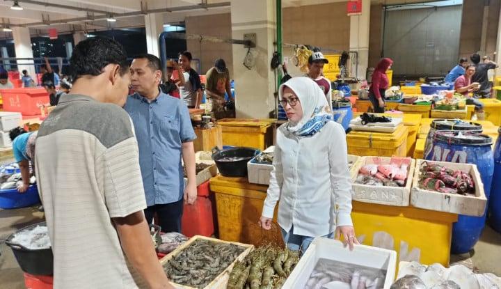 Bos Perindo Tinjau Pasar Ikan Modern: Aktivitas Normal, Omset Masih Rp5 M per Bulan