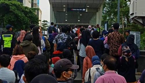 Operasional MRT Dibatasi Gara-Gara...