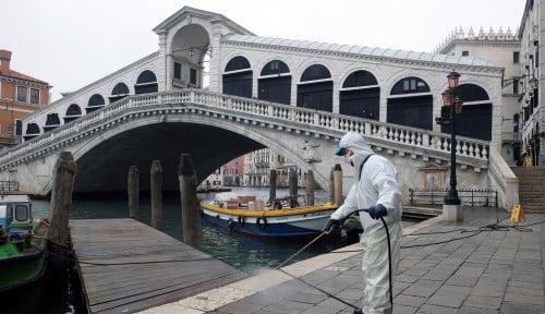 Foto Italia Catatkan 10.000 Lebih Kasus Kematian Corona