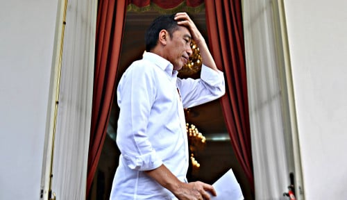 Foto Jokowi Digugat Rp10 M, Istana Ngegas: Minta Sana Sama Corona!