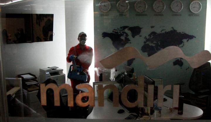 Gara-Gara Corona, Bank Mandiri Tutup Ratusan Kantor Cabang dan Kurangi Jam Operasional - Warta Ekonomi