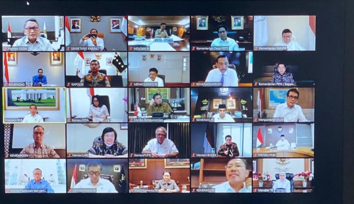Menteri Kabinet Rapat Online, Prabowo Ngilang ke Mana? - Warta Ekonomi
