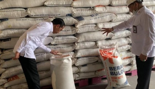 Gaya Santuy Jokowi, Tinjau Gudang Bulog, Tapi Gak Pakai Masker