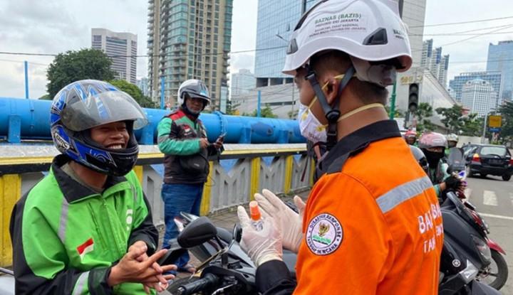 Baznas DKI Jakarta Sebar Refil Hand Sanitizer di 1.400 Titik - Warta Ekonomi