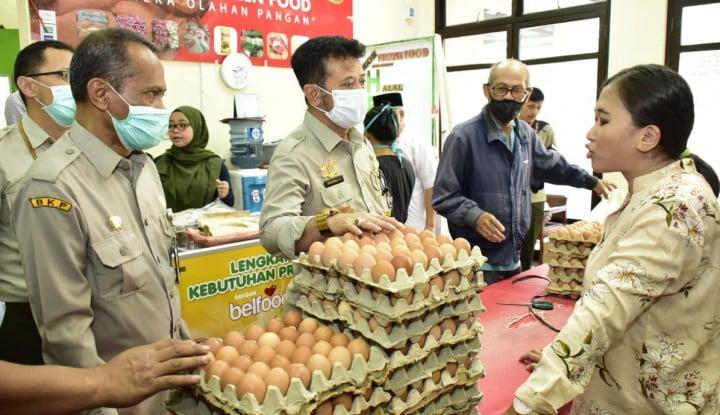 Bersama Mitra, Kementan Gelar Operasi Pasar 10 Pasar di DKI Jakarta - Warta Ekonomi
