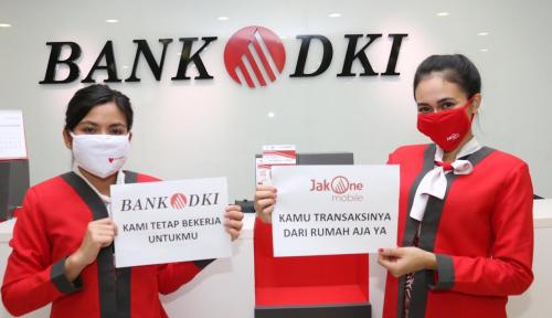 Foto Lawan Wabah Corona, Bank DKI Tutup Sejumlah Kantor Layanan