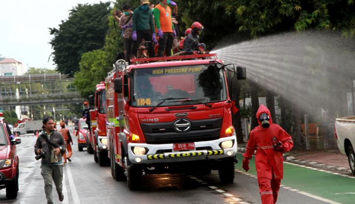 malaysia juga 'kebanjiran' hoaks soal penyemprotan disinfektan dari langit, mirip di indonesia!