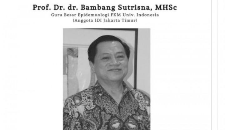 Dokter Bambang Sutrisna Meninggal di RS Persahabatan - Warta Ekonomi
