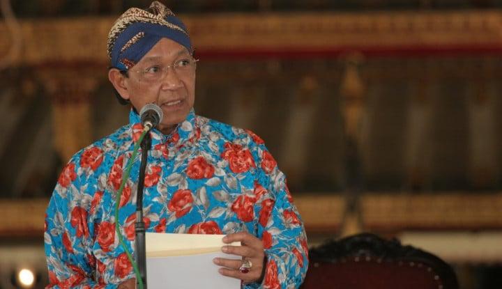 Soal Penanganan Corona, Sultan HB X Sampaikan Pidato... - Warta Ekonomi