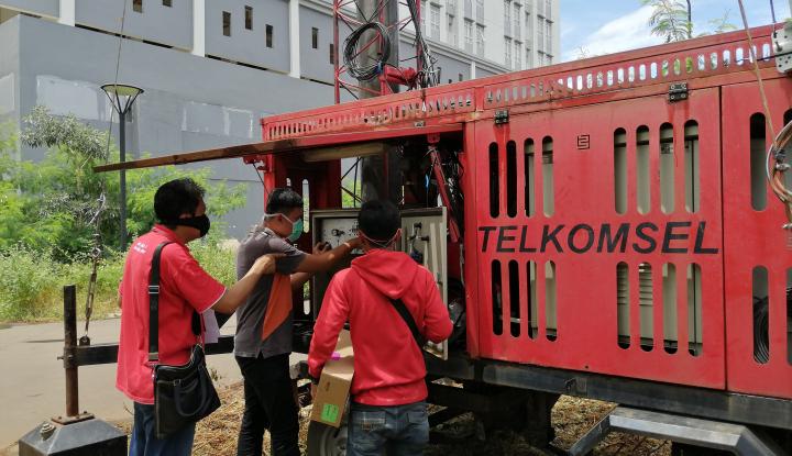 Telkomsel Perkuat Jaringan di Tiga Lokasi RS Penanganan Pasien COVID-19 - Warta Ekonomi