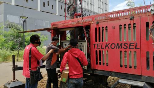 Foto Telkomsel Perkuat Jaringan di Tiga Lokasi RS Penanganan Pasien COVID-19