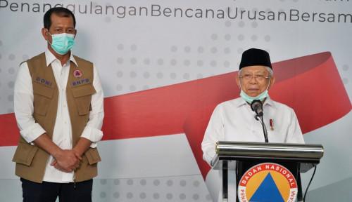 Foto Jokowi Ogah Terapkan Lockdown, Wapres: Biar Tak Seperti India