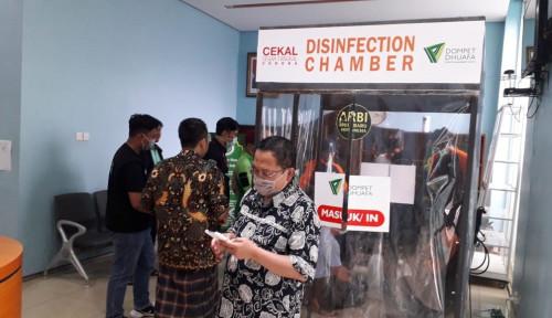 Foto 4 Unit Bilik Disinfektan Ditempatkan di Rumah Sakit Darurat Wisma Atlet Kemayoran