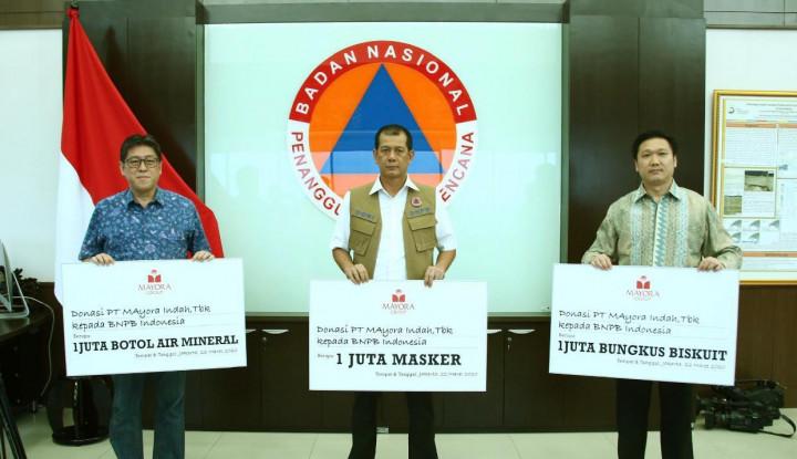 Mayora Group Donasikan Kebutuhan BNPB - Warta Ekonomi