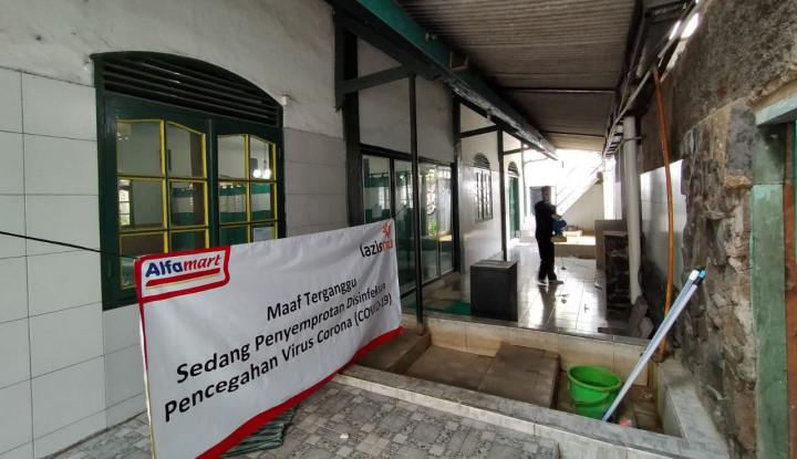 Cegah Corona, Alfamart Targetkan Semprot Disinfektan di 100 Lokasi Fasilitas Publik - Warta Ekonomi