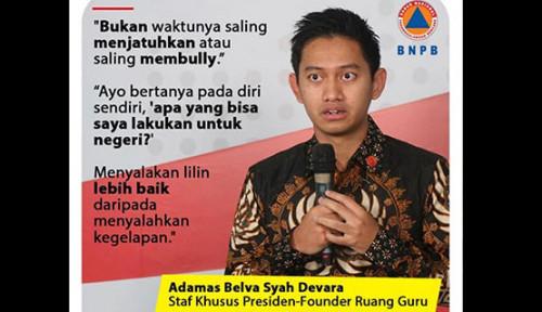Foto Sindir Stafsus Milenial, Gerindra: Kalau Gaji Rp51 Juta Cuma untuk Kata-Kata Bijak, Semua Bisa!