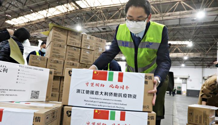 China Kini Kirim Bantuan Alat dan Tenaga Medis ke Sejumlah Negara yang Hadapi Corona - Warta Ekonomi