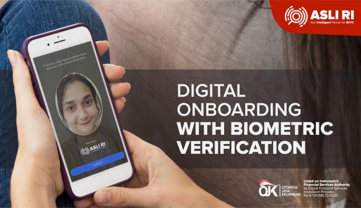 Biometric Digital Onboarding Solusi  Bisnis Saat  WFH - Warta Ekonomi