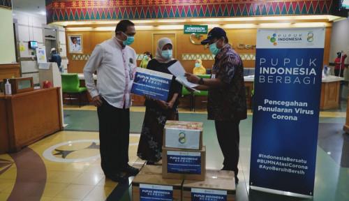 Pupuk Indonesia Berikan Bantuan APD ke RS Cengkareng