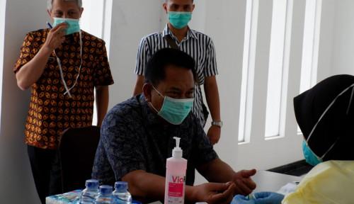 Foto Giliran Legislator Jabar Rame-Rame Ikut Rapid Test Covid-19