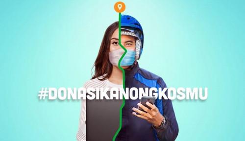 Foto Peduli Ojol, Dentsu Gaungkan Kampanye 'Donasikan Ongkosmu'