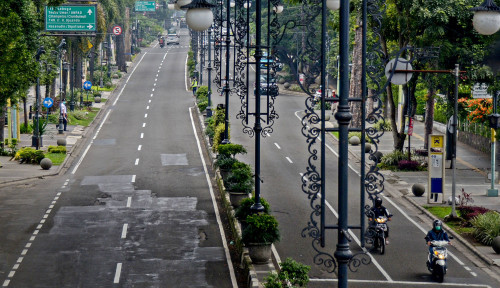Foto Zona Merah, Kota Bandung Terapkan Karantina Wilayah
