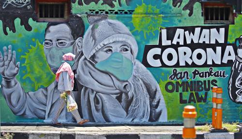 Foto Masih Ada Wilayah Jakarta yang Bebas Corona, Tolong Jangan Akses
