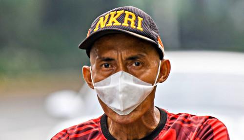 Foto Pemerintah Wajibkan Warga Pakai Masker Kalau Berada di Luar Rumah