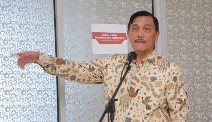 AS-China Memanas, Luhut: Itu Urusan Mereka, Yang Penting Bantu Presiden Promosi Investasi Indonesia