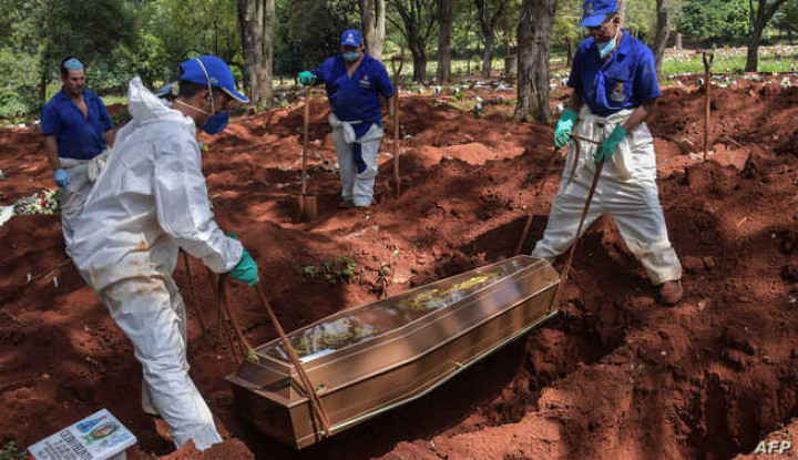 Kasus Infeksi Virus Corona Brasil Melonjak Tembus 180 Ribu Kasus
