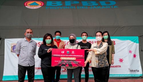 BBYB Akulaku Finance-Bank Yudha Bhakti Salurkan Bantuan Covid-19 ke Pemprov DKI Jakarta