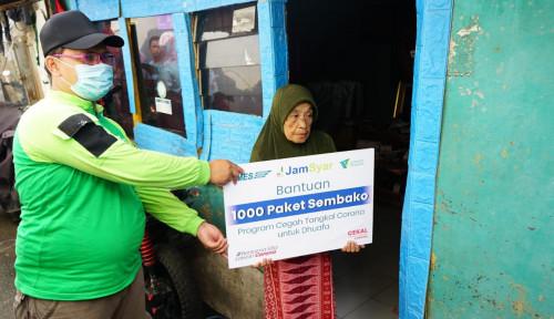 Tanggapi Wabah Covid-19, Jamkrindo Syariah Salurkan Seribu Paket Sembako