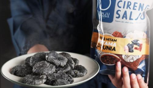 Foto Stok Makanan Dibutuhkan, Makanan Beku Cireng Hitam Jadi Pilihan