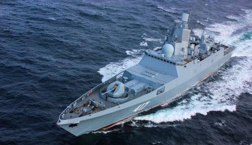 Ada Kapal Perang Spanyol di Laut Hitam, Angkatan Laut Rusia Ambil Langkah...