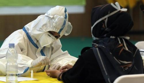 Ribuan Orang Minta Di-rapid Test yang Masuk Klaster Indogrosir