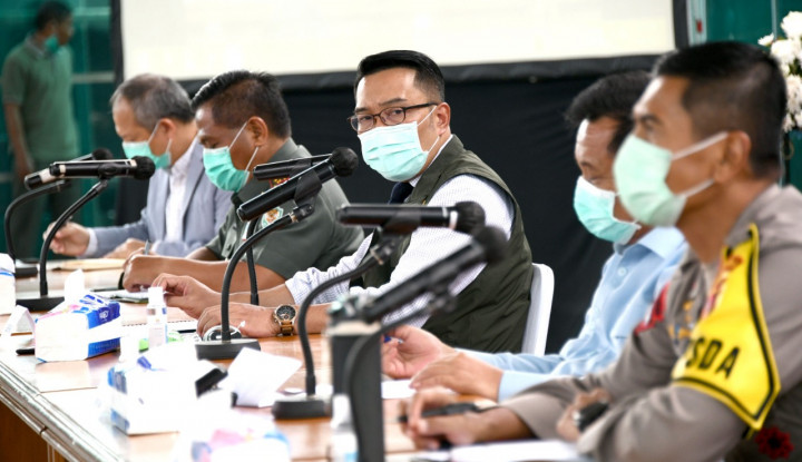 Emil Ajukan PSBB untuk Bogor, Bekasi, dan Depok